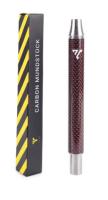 Vyro Carbon Mundstück Carbon Red 170mm